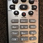 This is the remote control. I'd love to have a scientist do a swap of this thing and see...