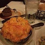 Califlower gratin -- amazingly good.