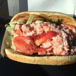 Yes, it's true. In Maine you can order a fresh Lobster Roll.