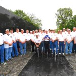 Veterans from Auburn, NY, sponsored by the Knights of Columbus