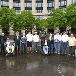 Auburn, NY Navy veterans visiting DC as part of Operation Enduring Freedom, sponsored by the Kof