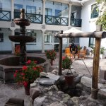 Beautiful, Original Courtyard, with Fountain and Well.