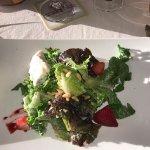 baby mixed green salad