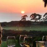 Andrea Patio oceanview sunset
