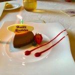 Happy Birthday to me! chocolate espresso mousse