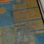Afraid to walk on carpet in bare feet.  Shame on La Quinta!