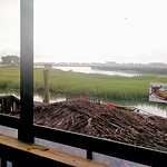 View of the Marsh from the restaurant