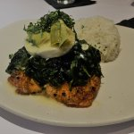 Lily's Salmon served with rice - beyond delicious