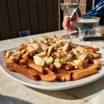 Poutine with chicken