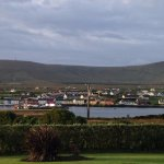 Portmagee from the garden of Carraig Liath House