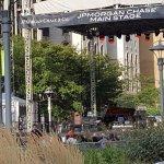 Downtown Detroit during festival