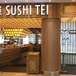 Main entrance of our Suria Sabah Shopping Mall Outlet. Sushi Tei - A Good Deal Of Sushi