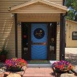 The front door on 2nd Street