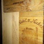 Old wine crates