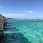 Water villas are beautifully picturesque but beach villas are more practical