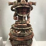 Mayan sculpture at the National Museum of Archaeology and Ethnology