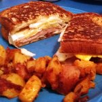 Ever had a French toast sandwich?
