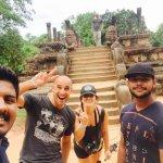 polonnaruwa city tour with spanish