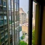 17th floor with sliver of downtown view