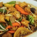 Tofu Royal for a light meal