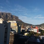 table mountain and signal hill view from the room