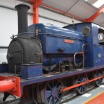 Manning Wardle Tank Engine in the Middleton Railway Museum