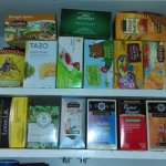 Kitchen Tea Cupboard at The Chatelaine