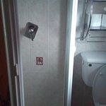 kind of smaller bathroom