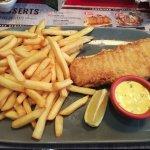 Buffalo fish and chips
