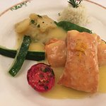 Salmon in orange sauce main - wonderful