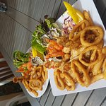 Pelican rocks cafe greenwell point does amazing breakfast and seafood lunch voted the best fish