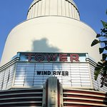 The Tower cafe and movie theater