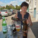 """Une bière locale, """"La jambe de Bois"""""""