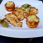 chicken sharhat and potatoes gratin