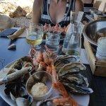 fruits de mer hyper frais