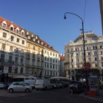 The Hotel opens right into the Neuer Markt