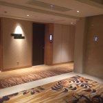 Lift lobby at room floor