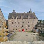 Vue depuis la seconde aile du château