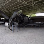 Victorious Fatherland Liberaton War Museum: wreckage of Skyraider