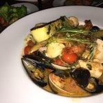 Seafood stew- zarzuela