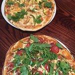 Milan and Java pizza (minus chillis)