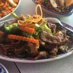 beef and vegetable dish