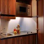 Appartement, Küchenzeile
