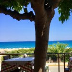 View from taverna attached to hotel
