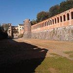 part of fortress walls