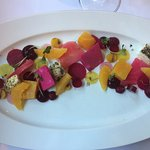The terrific beet salad at Atelier