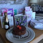 Stunning resort and nice touch giving my wife a Birthday Cake ... Many thanks :-)