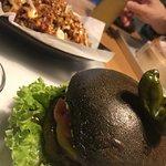 wasabi burger/bulgogi fries