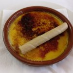 Creme Brulee, very tasty