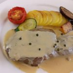 veal steak, scrumptious